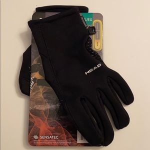NWT Head Men's Ultrafit Touchscreen Running Gloves